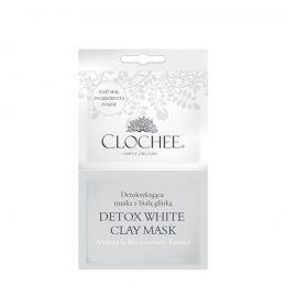 CLOCHEE Detoksykująca Maska z Białą Glinką