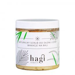 HAGI Naturalny Scrub do Dłoni i Stóp - Wakacje Na Bali