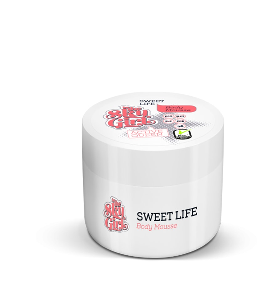 BE THE SKY GIRL Mus do Ciała - Sweet Life