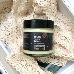 MANUFAKTURA NATURA Krem Malina Aloes 60 ml
