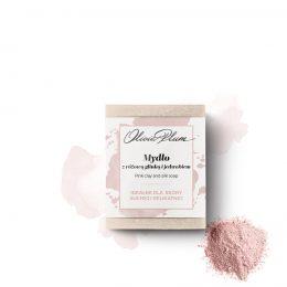 OLIVIA PLUM Mydło z Różową Glinką i Jedwabiem