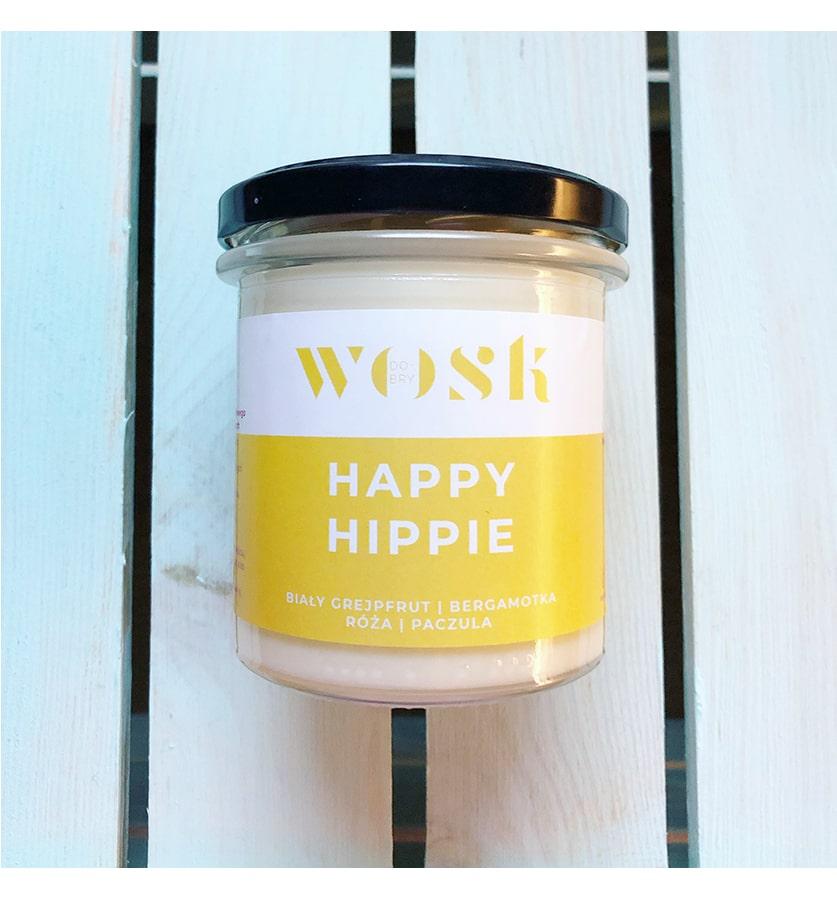DOBRY WOSK Świeca Happy Hippie