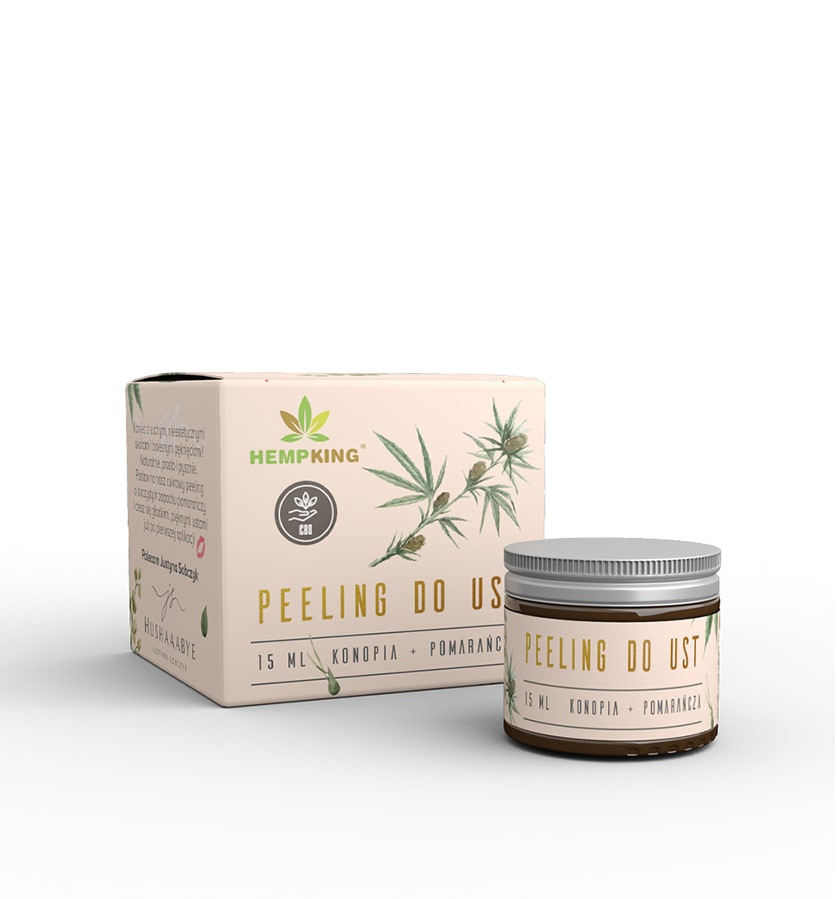 HEMP KING Peeling do Ust