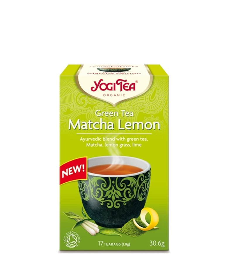 Yogi Matcha Lemon
