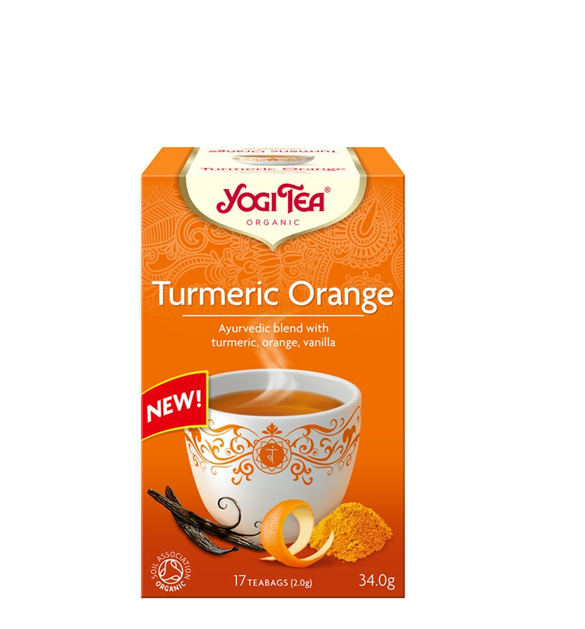 Yogi Tumeric Orange