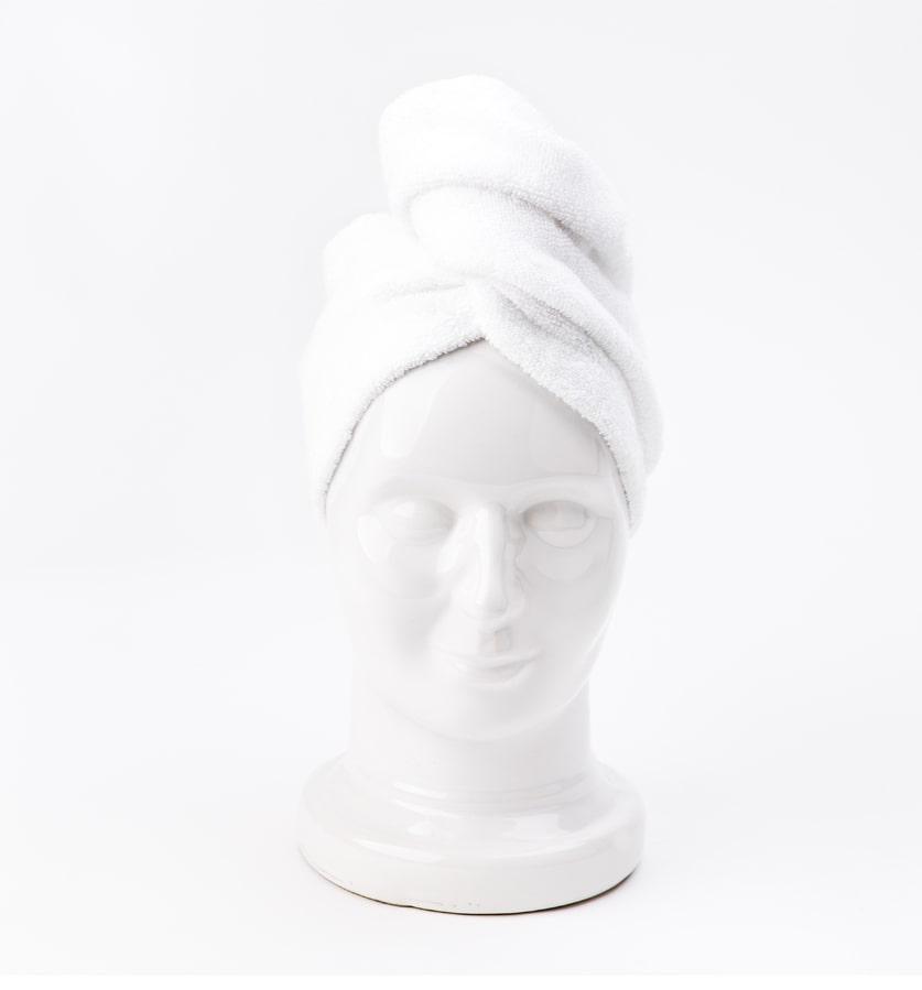Turban Biały